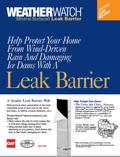 Weather Watch Leak Barrier