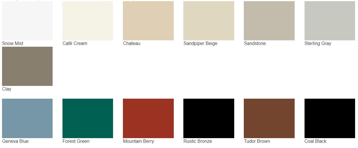 Door Colors