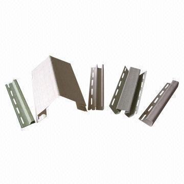 Vinyl siding components