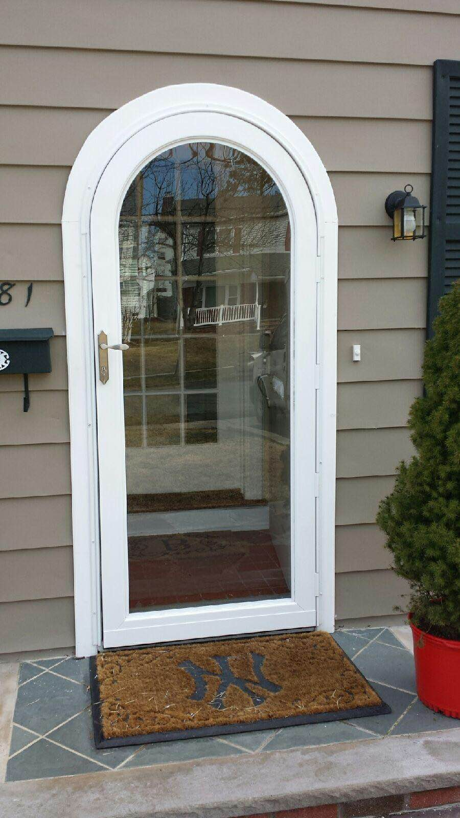 & Everything You Need to Know About Arch Top Storm Doors