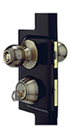 Security Storm Door Hardware