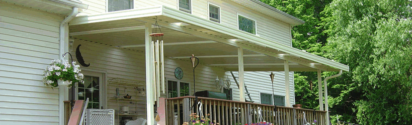 Aluminum Awnings and Patio Covers NJ
